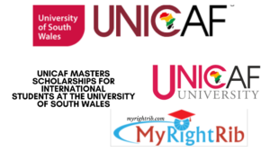 UNICAF MASTERS SCHOLARSHIPS FOR INTERNATIONAL STUDENTS AT THE UNIVERSITY OF SOUTH WALES
