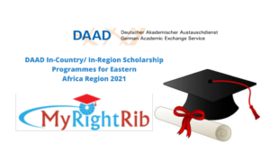 DAAD In-Country/ In-Region Scholarship Programmes for Eastern Africa Region 2021