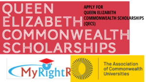 APPLY FOR QUEEN ELIZABETH COMMONWEALTH SCHOLARSHIPS (QECS)