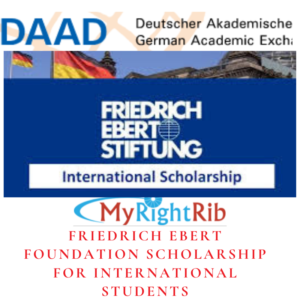 FRIEDRICH EBERT FOUNDATION SCHOLARSHIP FOR INTERNATIONAL STUDENTS