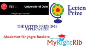THE LETTEN PRIZE 2021 APPLICATION