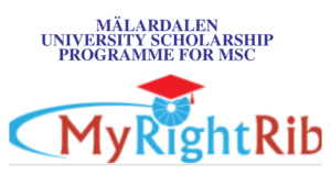 MÄLARDALEN UNIVERSITY SCHOLARSHIP PROGRAMME FOR MSc