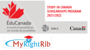 STUDY IN CANADA SCHOLARSHIPS PROGRAM 2021/2022