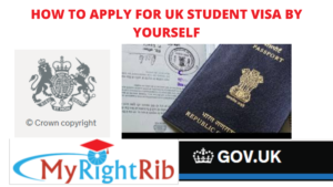 HOW TO APPLY FOR UK STUDENT VISA BY YOURSELF